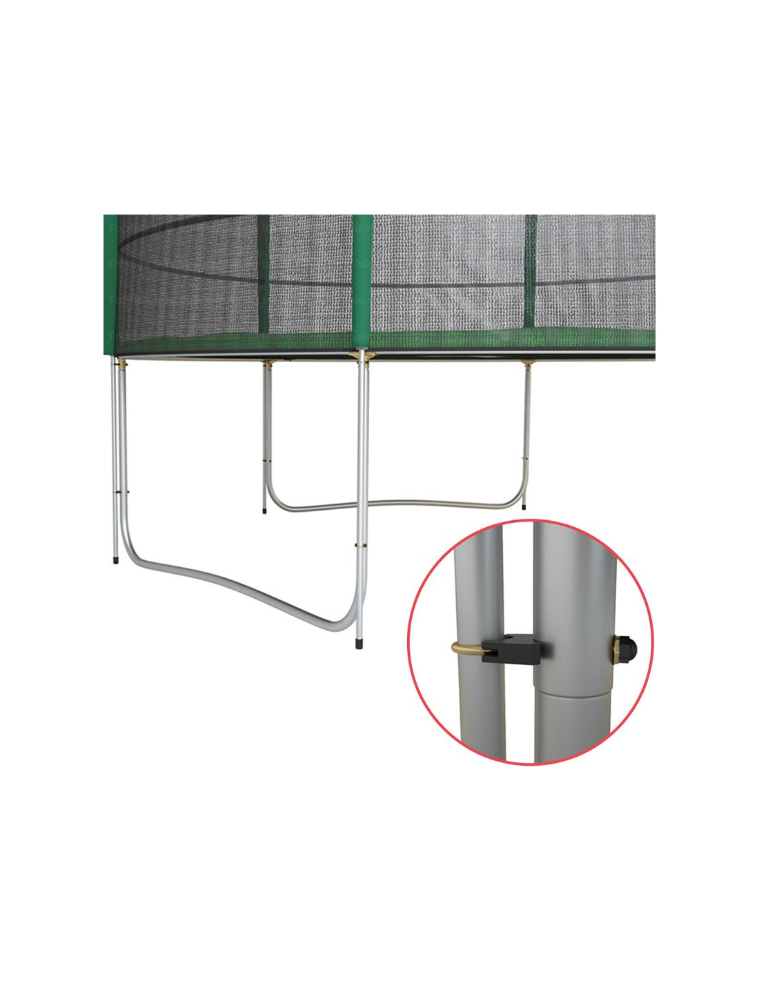 trampoline 430 cm pas cher trampoline de bonne qualit. Black Bedroom Furniture Sets. Home Design Ideas