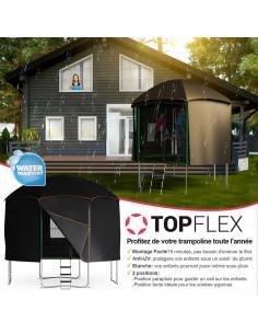Tente intégrale pour trampoline 370 cm Jumpix