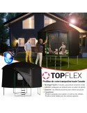 Cabane trampoline Ø 460 cm pour TOUT Trampoline Ø 430 cm