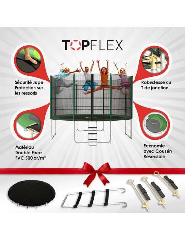 Trampoline Topflex 370 cm