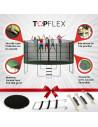 Trampoline Topflex 430 cm
