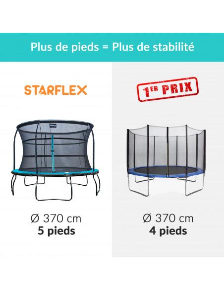 Trampoline Starflex Pro - Diamètre 366 cm