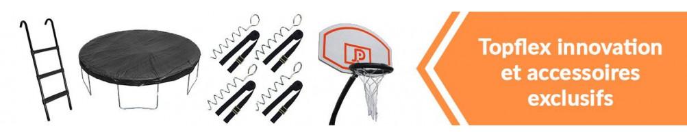 Accessoires pour trampoline TopFlex, accessoires pour trampoline pas chers - TopFlex